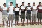 Trấn áp hải tặc trên vùng biển Việt Nam