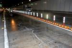 Nứt nền đường hầm sông Sài Gòn