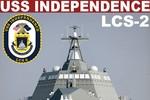 Từng chi tiết chiến hạm tàng hình USS Independence LCS-2 qua hình họa 3D