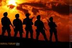 Chiêm ngưỡng bộ lịch ảnh sức mạnh quân đội Nga năm 2014