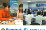 Nếu hợp nhất, quy mô Eximbank-Sacombank sẽ thế nào?