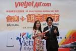 Vietjet tưng bừng khai trương đường bay TP.HCM – Đài Nam