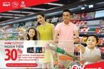 Hoàn tiền 30% tại Lotte Mart khi chi tiêu bằng thẻ quốc tế Maritime Bank