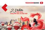 Gửi tiết kiệm tại Techcombank, khách hàng nhận quà tặng độc đáo từ Lý Quý Khánh