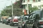 KonTum 'tắc nghẽn' vì dàn xế khủng dài hơn 1 km trong đám ma PCT huyện
