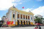 Màu sơn Nhà hát Lớn sẽ giống với màu sơn sử dụng năm 1997