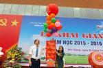 Đồng chí Nguyễn Thiện Nhân dự khai giảng trường THPT chuyên Bắc Giang