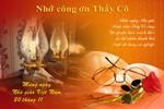 Những tấm thiệp chúc mừng thầy cô nhân ngày Nhà giáo Việt Nam 20/11