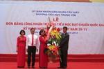 Trường tiểu học Trung Yên đạt chuẩn Quốc gia