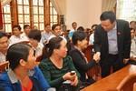 Trưởng Ban Kinh tế Trung ương tiếp xúc cử tri Bình Định