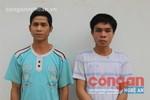 Bắt giữ 2 kẻ cầm đầu đường dây ma túy khu vực biên giới