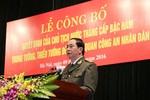 Công bố, trao Quyết định của Chủ tịch nước thăng bậc hàm cấp Tướng CAND