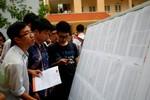 Bộ quản lý dữ liệu điểm thi, mỗi thí sinh chỉ được cấp 1 giấy chứng nhận kết quả