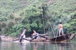 """Quảng Bình yêu cầu liên ngành vào cuộc vụ thu """"phí cát lậu"""" trên sông Long Đại"""