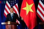Hôm nay, ông Obama có phát biểu quan trọng về mối quan hệ Việt-Mỹ