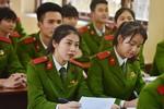 Hai trường khối công an công bố điểm trúng tuyển hệ dân sự