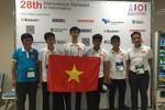 Việt Nam giành 2 Huy chương Vàng Olympic Tin học quốc tế