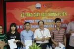 Những thí sinh đầu tiên trúng tuyển ngành truyền thông, báo chí chuẩn quốc tế