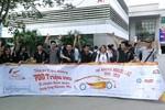 Cuộc thi đua xe không người lái đã thu hút hơn 500 sinh viên