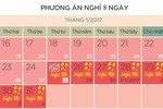Học sinh Hà Nội nghỉ Tết 8 ngày