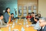 Thứ trưởng Bộ Giáo dục tới thăm và chúc Tết Hiệp hội