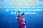 Học sinh lớp 8 giành điểm số dẫn đầu ở cả hai kỳ thi Toán học quốc tế