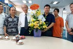 Chủ tịch Trần Hồng Quân tới thăm và chúc mừng Báo điện tử Giáo dục Việt Nam
