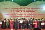 Hà Nội vinh danh 84 thủ khoa xuất sắc nhất năm 2017