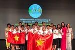Việt Nam giành 12 huy chương tại kỳ thi Olympic Toán và Khoa học quốc tế