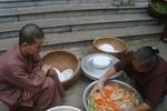 Đặc sắc tiệc chay chốn cửa Phật