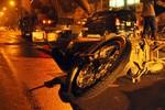Hà Nội: Bị xe bồn chở bê tông kéo rê, nam thanh niên chết thảm