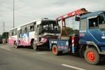 Tai nạn đâm xe liên hoàn trên QL 1A: Nhiều công nhân hoảng loạn