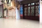 Cứ mưa là ngập, dân cư tổ 44, phường Yên Hòa dài cổ chờ chính quyền giải quyết