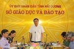 Lãnh đạo Sở Giáo dục Hải Dương làm sai chỉ thị của Bộ, ép thi học sinh giỏi