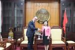 Bộ trưởng Bộ Y tế tiếp Đại sứ đặc mệnh toàn quyền Cộng hòa Áo
