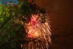 Clip: Bầu trời Thủ đô lung linh sắc màu pháo hoa trong đêm giao thừa