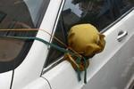 Clip đi xe SH bẻ trộm gương chiếu hậu Mercedes