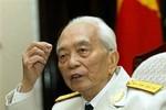 Cử hành lễ tang Đại tướng Võ Nguyên Giáp theo nghi lễ nào?