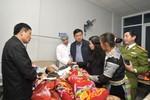 Bộ trưởng Đinh La Thăng chỉ đạo làm cầu tạm cho dân đi lại ở Lai Châu