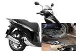 Honda Việt Nam: Xe SH vỡ vụn máy là do khách hàng!
