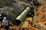 Khởi tố vụ án vỡ đường ống nước sông Đà: Vinaconex lên tiếng