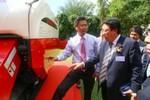 Ra mắt máy nông nghiệp Nhật Bản YANMAR tại Việt Nam