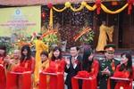 Chủ tịch nước cắt băng khánh thành Chùa Phật tích Trúc Lâm Bản Giốc