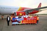 Đón máy bay Airbus 320 mới, Vietjet khuyến mãi 270.000 vé giá rẻ