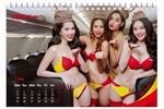 """Tung bộ lịch Bikini 2016 """"gây bão"""", thông điệp của Viettjet là gì?"""