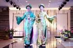 Á hậu Huyền My duyên dáng áo dài tại Asia Park