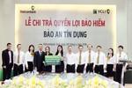 Vietcombank Vinh và VCLI chi trả hơn 800 triệu đồng quyền lợi bảo hiểm tín dụng