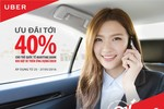 Taxi Uber ưu đãi tới 40% cho chủ thẻ Maritime Bank