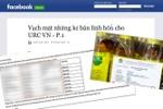 Bộ Công an: Cần nhiều thời gian để làm rõ động cơ tung tin URC hối lộ báo chí