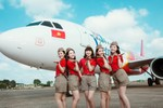 Vietjet tuyển dụng tiếp viên hàng không trên toàn quốc
